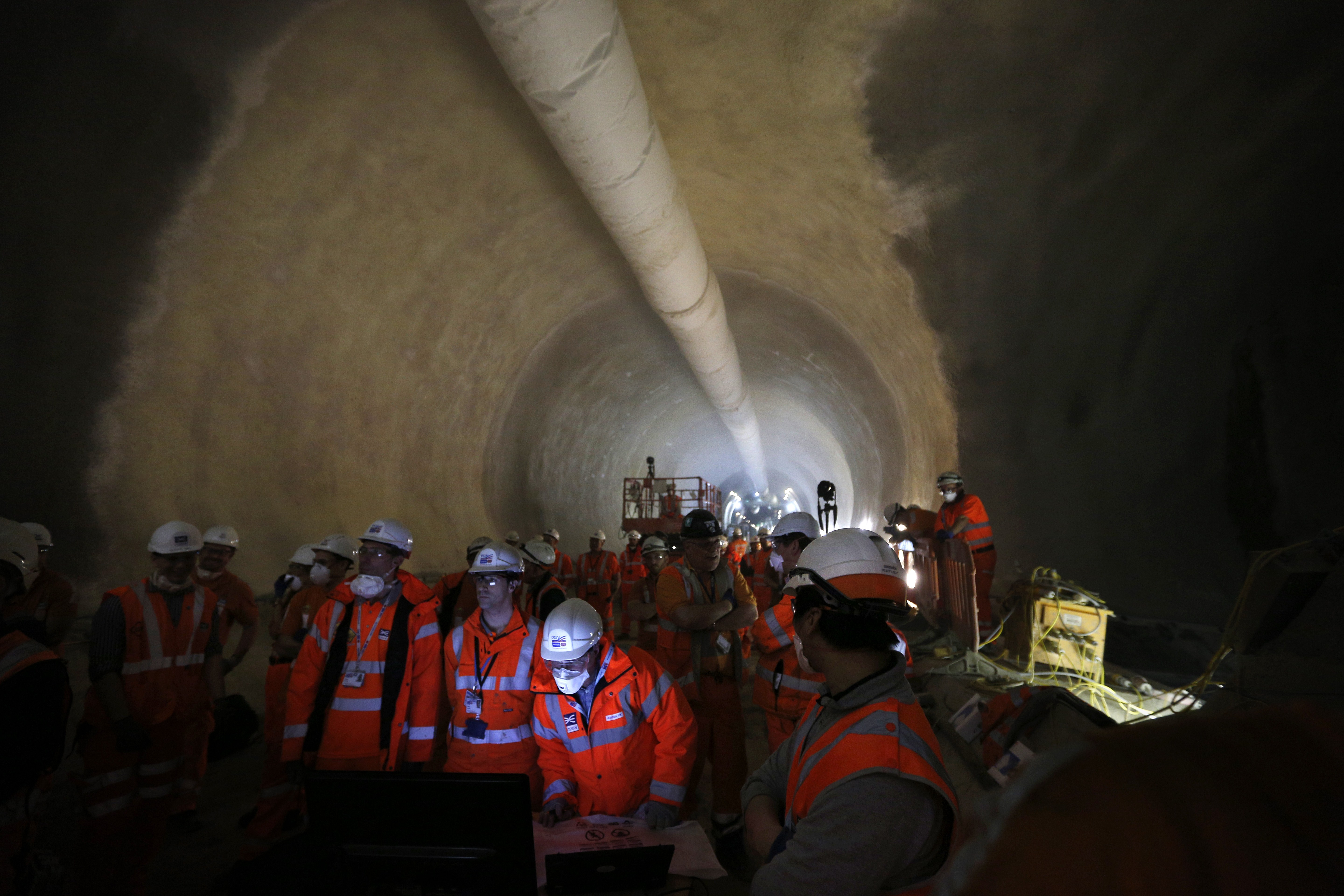 Construction work on Crossrail has been taking place across the capital for years