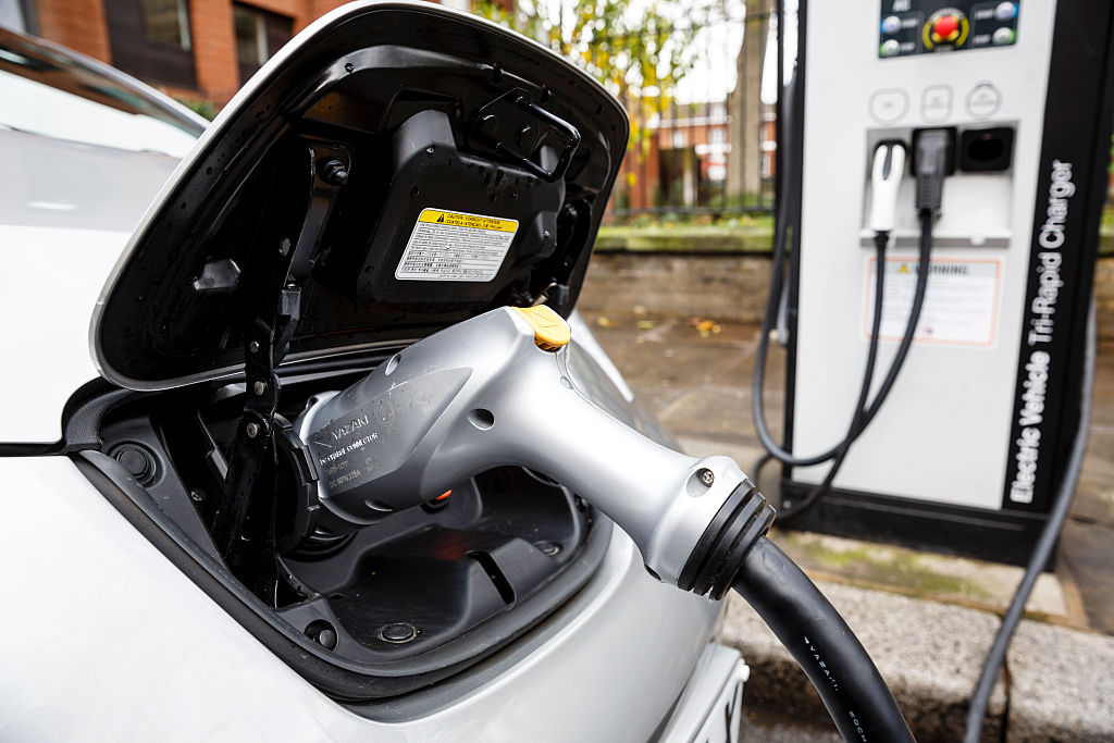 There are currently about 17,000 electric car charge points in the UK