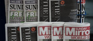 Last Print Edition Of The Independent On Sunday Goes On Sale