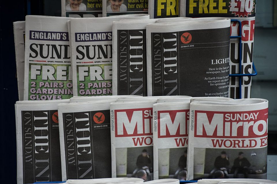 Government hints at tax breaks in boost for news publishers - CityAM