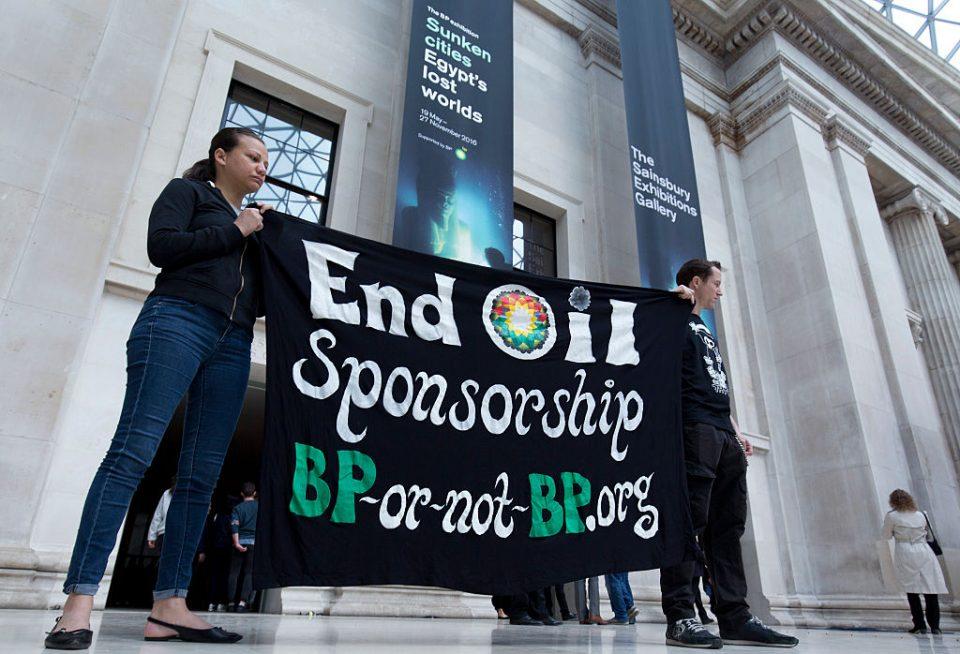 BRITAIN-CULTURE-PROTEST-BP