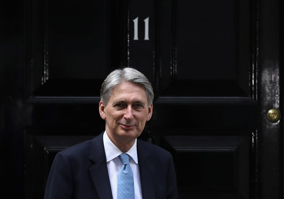Philip Hammond joins fintech startup Oaknorth to advise clients