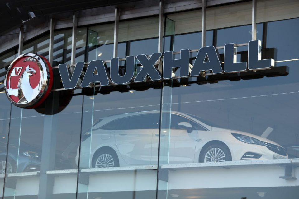 PSA owns Vauxhall and Peugeot