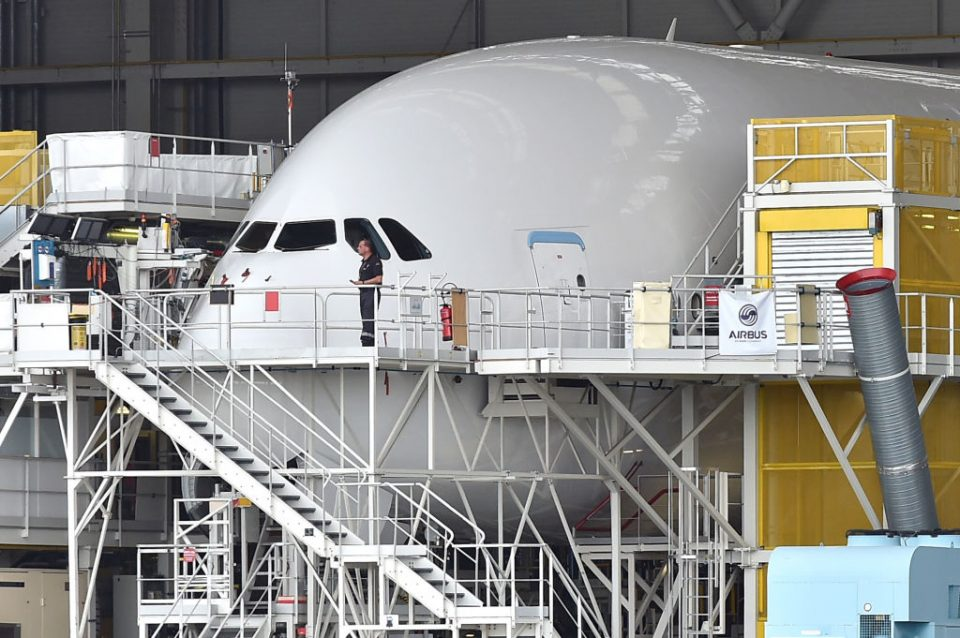 Airbus first reported the allegations to the UK's Serious Fraud Office in 2016