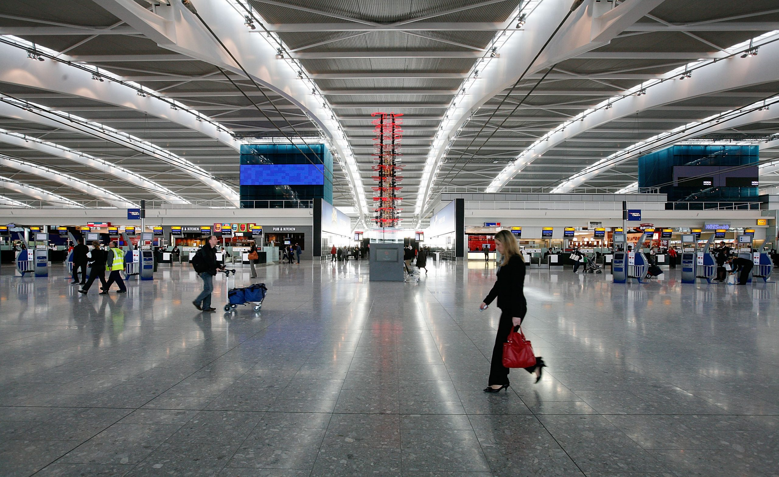 Heathrow airport counted 6.7m Christmas passengers in 2019