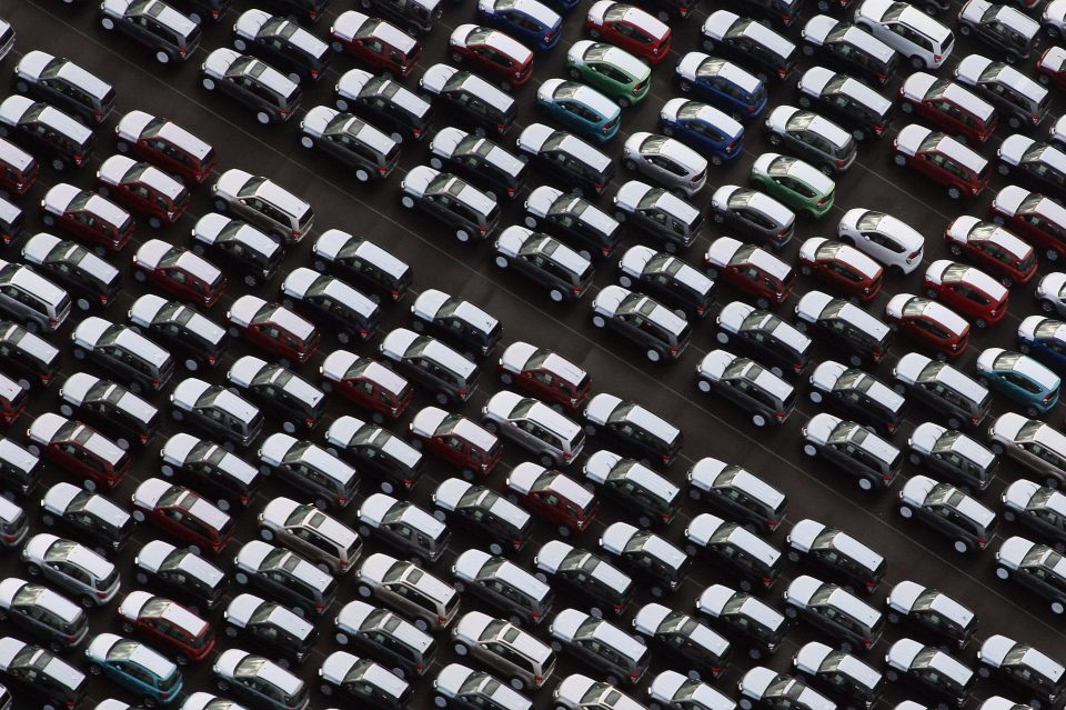 SMMT figures show car production is down for the third year running