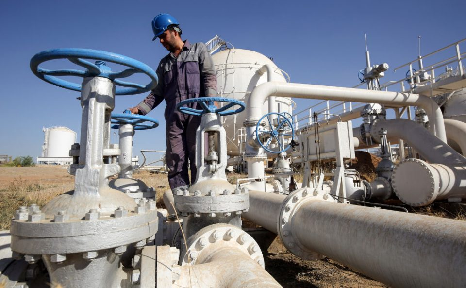 BP has withdrawn from Iraq's Kirkuk oilfield after it failed to come to a new agreement on the giant field's expansion.