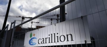 Carillion went bust in January 2018