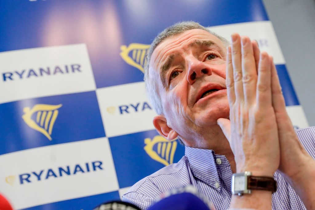 Ryanair boss Michael O'Leary is unhappy about the Flybe bailout