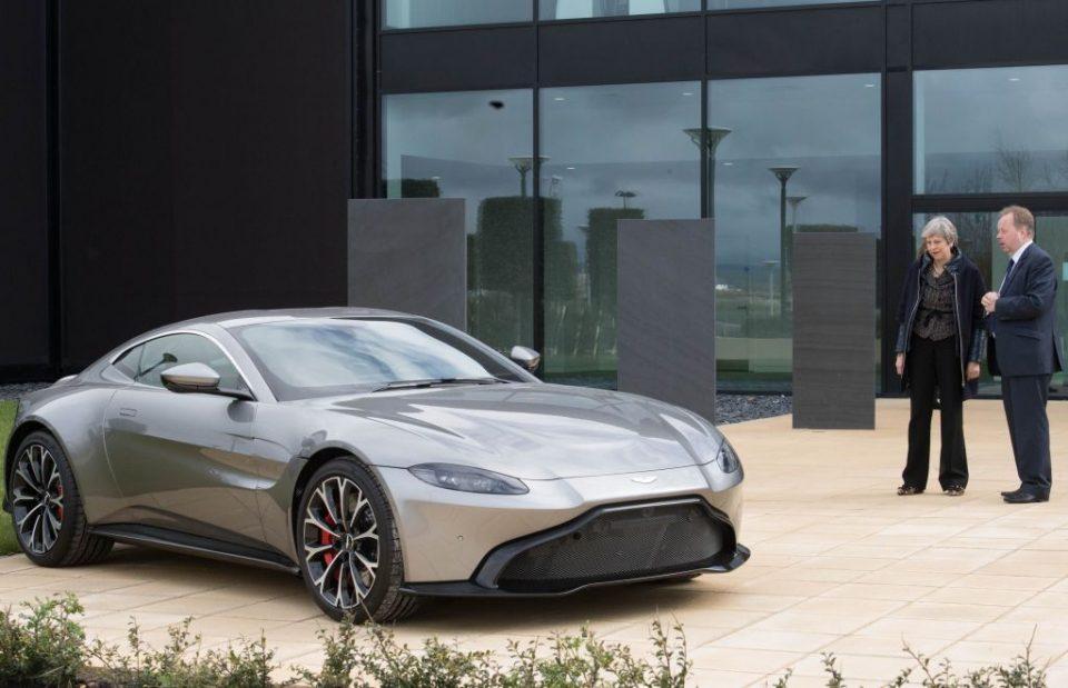 Lotus owner Geely considers taking stake in Aston Martin - CityAM