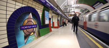 'Next stop, Picardilly...': TfL rebrands Tube station for Star Trek launch