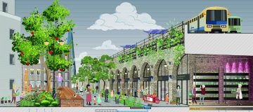The Low Line – PDP London design