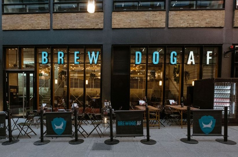 """As millions of people give up alcohol for """"dry January"""", independent brewery Brewdog is set to give them a helping hand by opening its first ever alcohol-free bar today."""