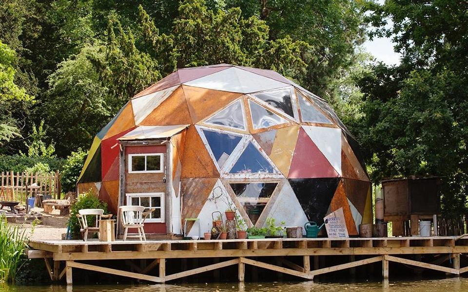 The apocalypse dome in Compton Verney