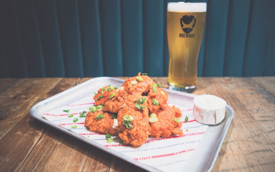 Brewdog Seitan Wings