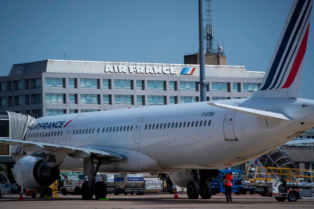 Air France-KLM saw its shares fall 7.6 per cent this morning after the airline warned that the coronavirus outbreak could wipe up to €200m (£167.4m) off earnings by April if flights remain suspended.