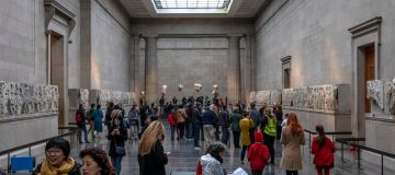 The EU may demand the return of the Elgin Marbles from the British Museum after Brexit