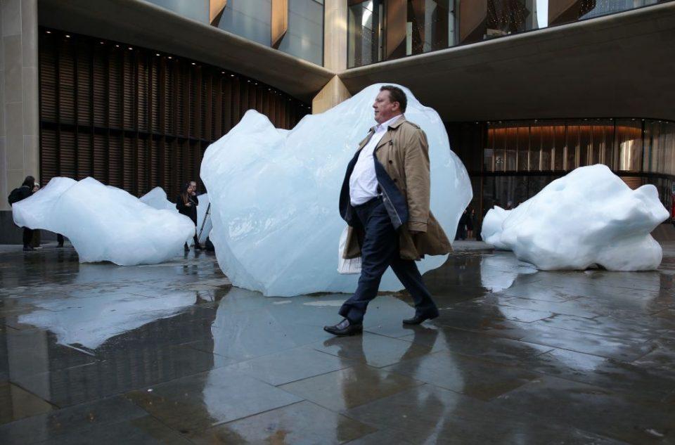 BRITAIN-ART-CLIMATE