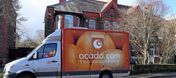 Ocado falls to £214.5m loss after Andover warehouse fire