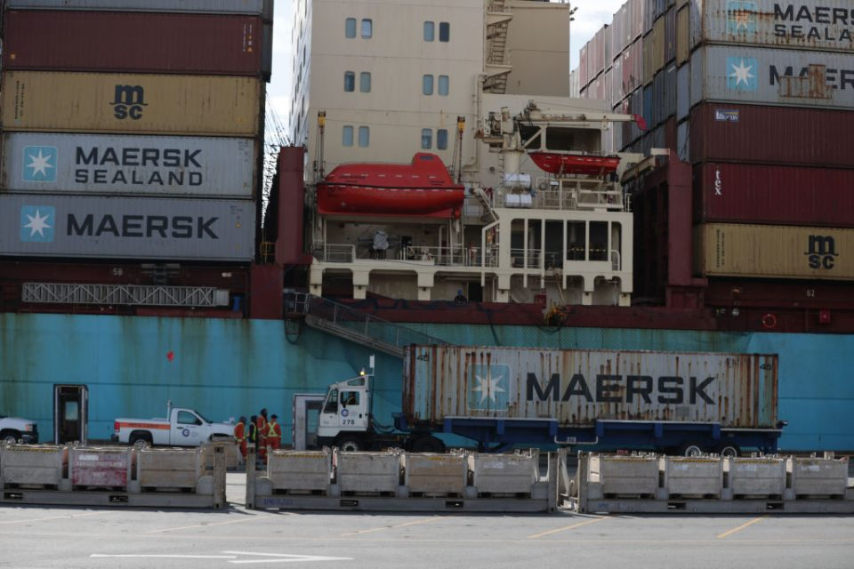 Global shipping giant Maersk warned today that the coronavirus outbreak would hit earnings this year as the Danish firm missed earnings forecasts in the fourth quarter.