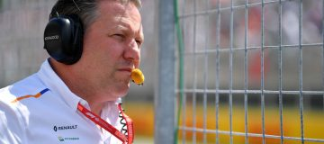 McLaren chief Zak Brown already has one eye on 2021