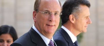 Larry Fink, the chief executive of Blackrock
