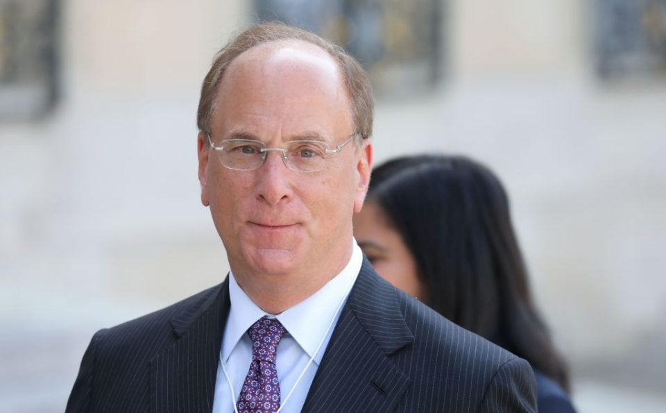 Larry Fink is both chairman and CEO of Blackrock - a dual role now coming under scrutiny