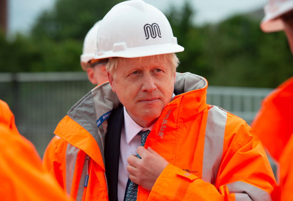 Boris Johnson Announces His Domestic Priorities In Manchester Speech