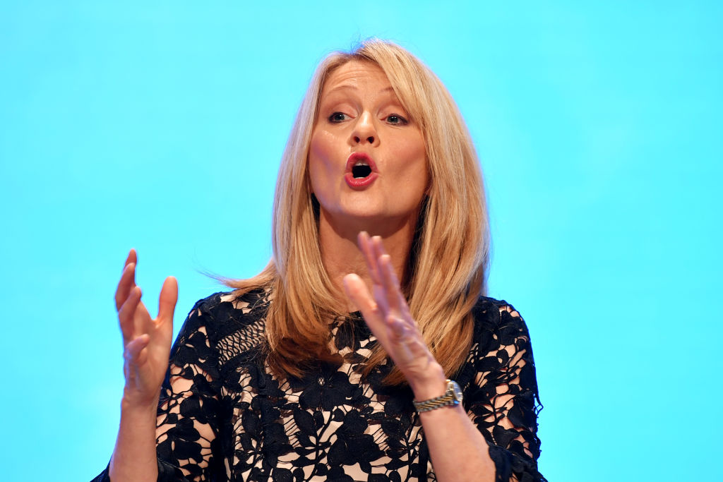 Esther McVey was sacked as housing minister last week