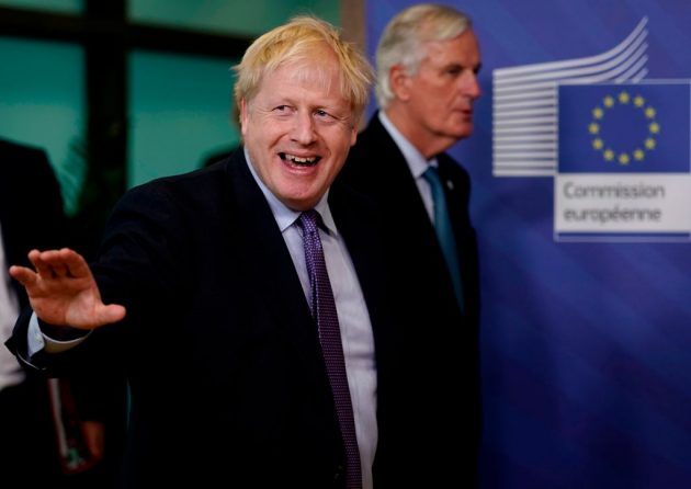Brexit trade talks are ongoing between Boris Johnson and Michel Barnier