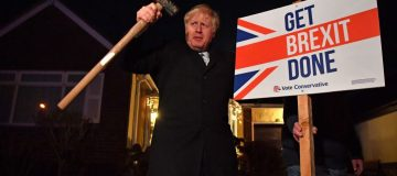 Boris Johnson is set to warn of a hard Brexit if the UK does not get its way in EU trade talks
