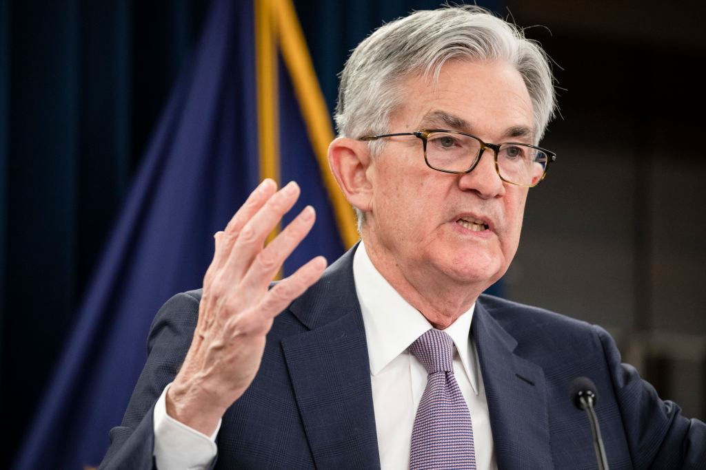 "US Federal Reserve chair Jerome Powell today warned that the US faces an ""extended period"" of weak growth and stagnant incomes, and pledged to continue to intervene in the economy, and issued a call for additional fiscal spending."