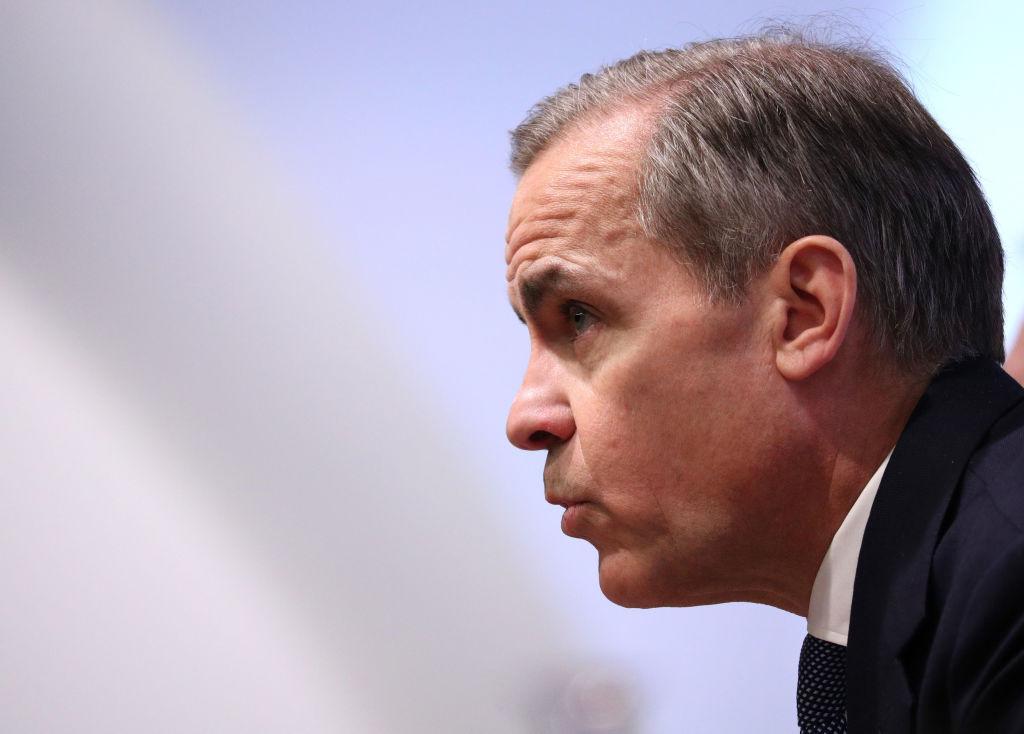 Mark Carney, Bank of England governor, UK economy