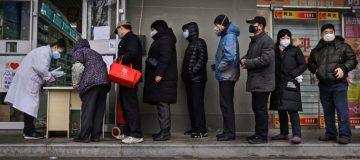 Chinese stocks plunge as investors dump shares over coronavirus