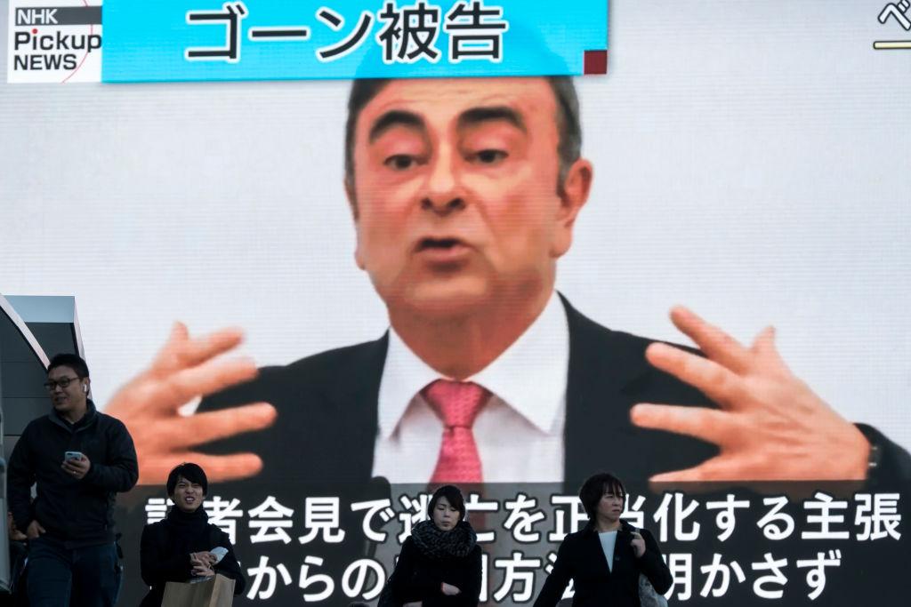 Carlos Ghosn Flees Trial in Japan for Lebanon