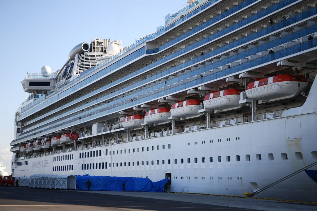The Diamond Princess cruise ship, docked in Yokohama port, now has 130 cases of coronavirus