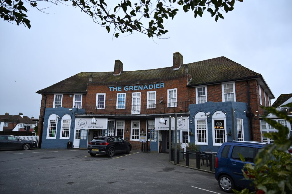The Grenadier pub in Hove, where a UK national that has contracted the 2019-nCoV strain of the novel coronavirus visited