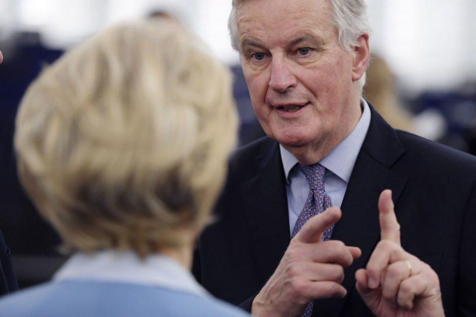 FRANCE-EU-BRITAIN-BREXIT-POLITICS-PARLIAMENT