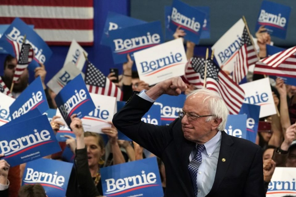 Democratic hopeful Bernie Sanders won Tuesday's New Hampshire primary
