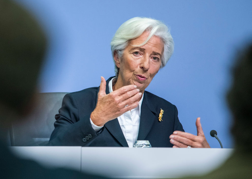 ECB chief Christine Lagarde calls for higher spending and climate action