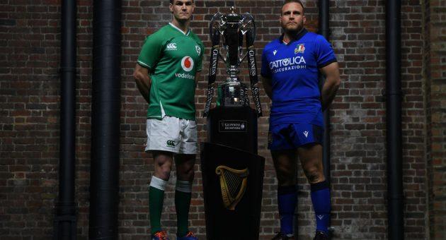 Coronavirus: Ireland v Italy Six Nations match postponed