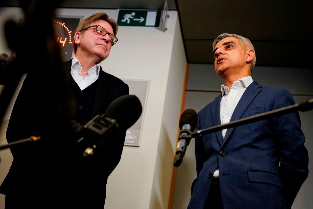 Sadiq Khan calls for UK citizens to be made EU 'associate citizens'