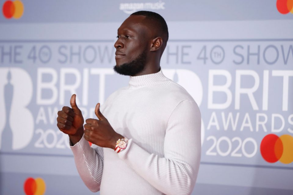 Stormzy receives Greggs black card