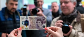 De La Rue designed and printed the Bank of England's new £20 note