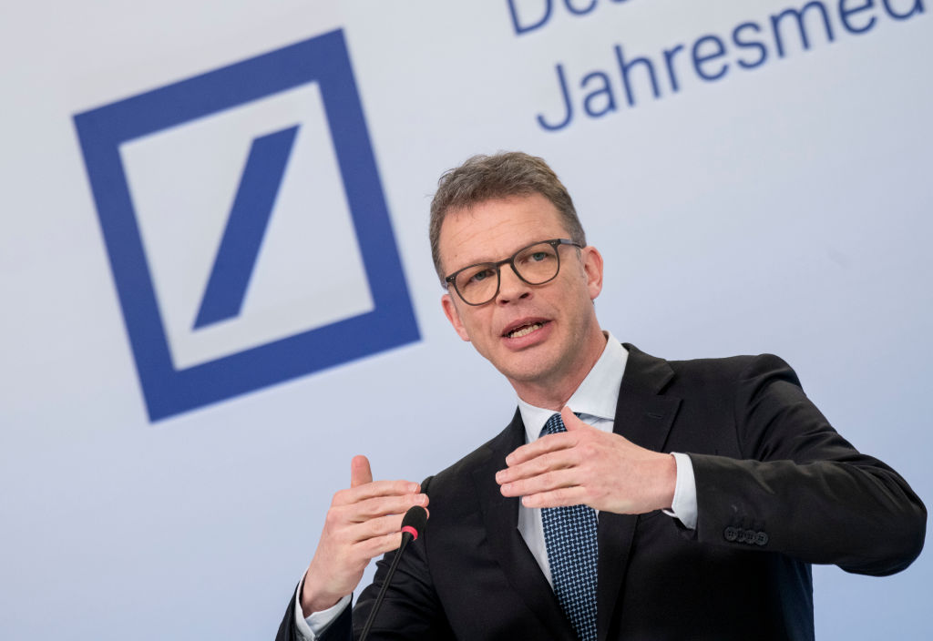 Deutsche Bank Holds Annual Press Conference