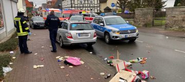 Driver arrested after car hits carnival parade in Germany