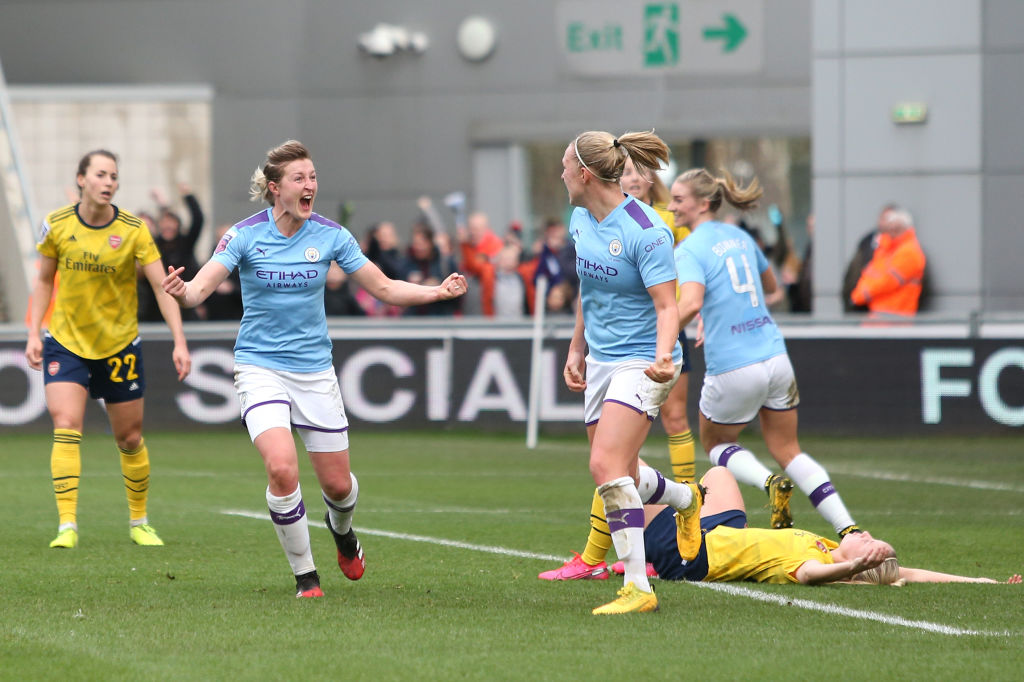 Manchester City v Arsenal - Barclays FA Women's Super League