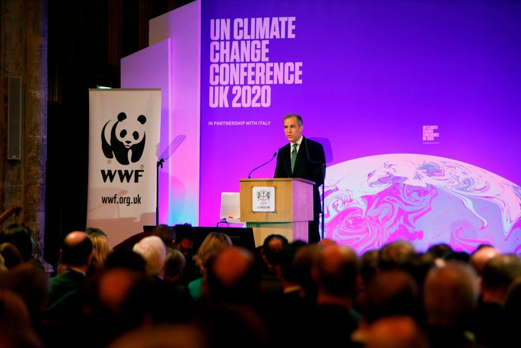 BRITAIN-ECONOMY-CLIMATE-CONFERENCE-COP26