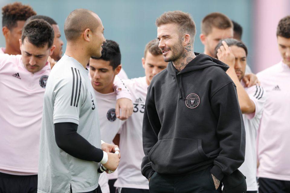 Inter Miami co-owner David Beckham