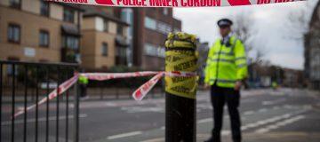 london police shooting